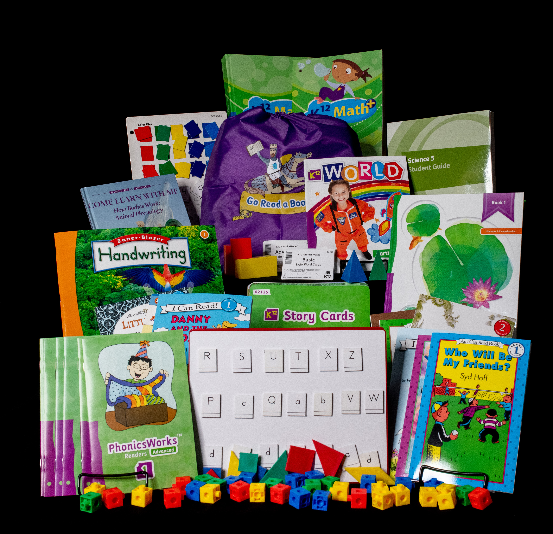 1st Grade Curricular Materials
